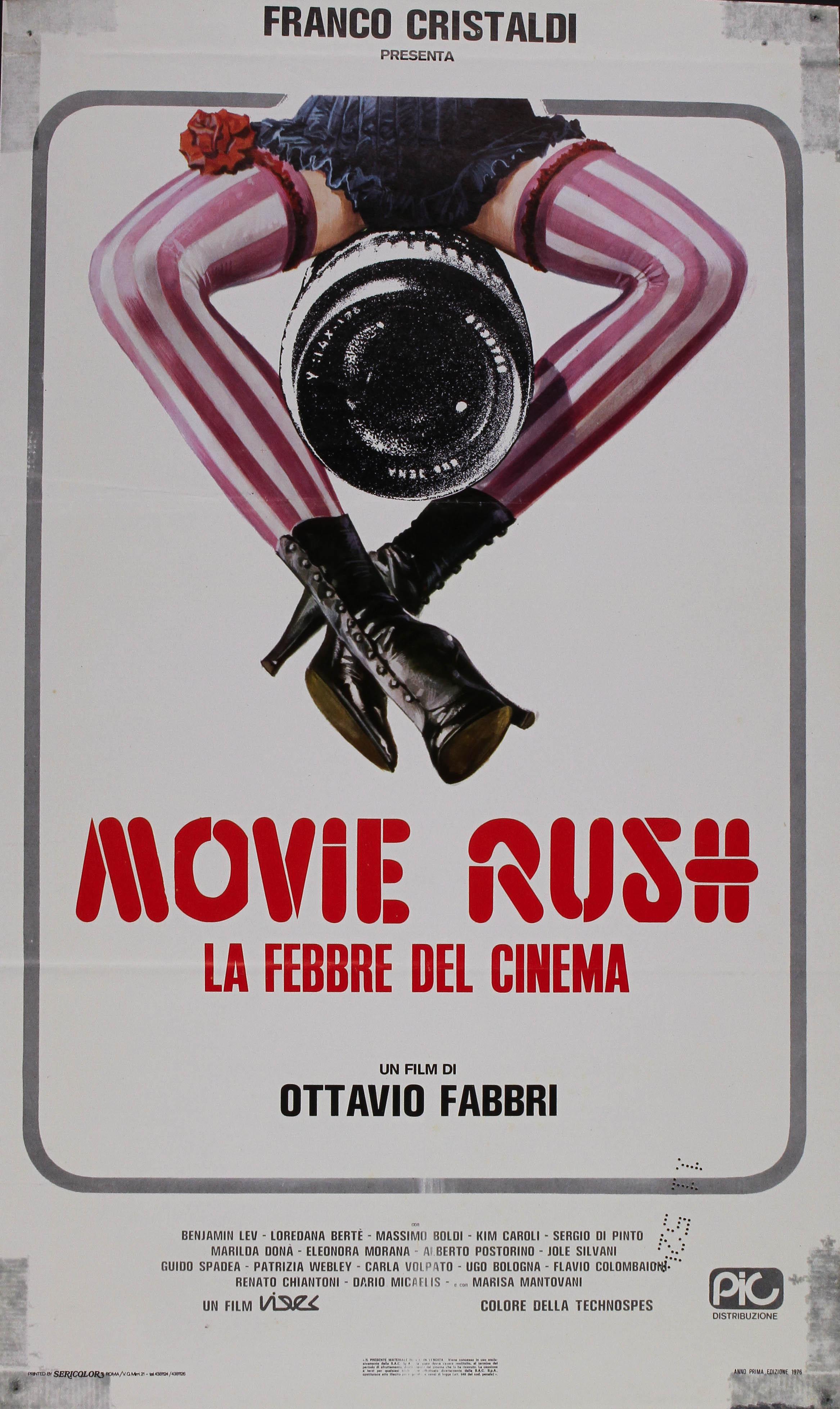 Movie Rush (La Febbre Del Cinema) (1976)